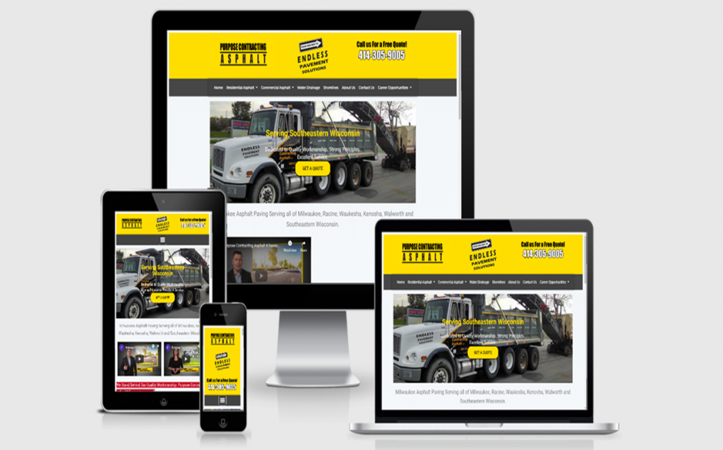 Paving Contractor Websites